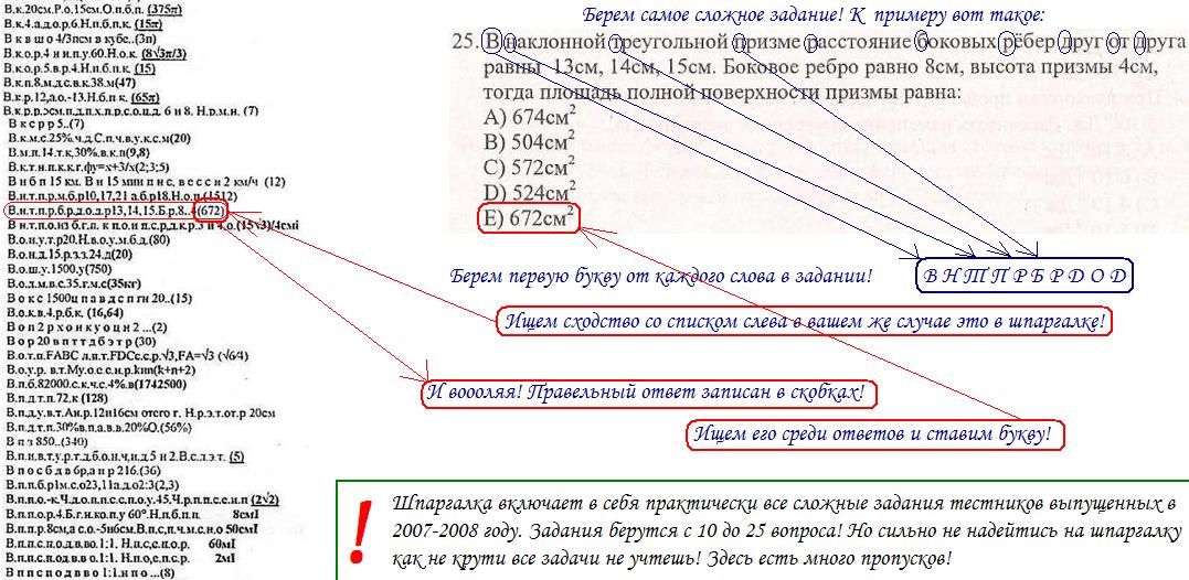 Скачать джава кодовыи шпор по казакским класс матиматика и биалогия